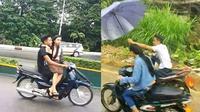 4 Kelakuan Budak Cinta di Jalanan Ini Bikin Tepuk Jidat (sumber: Instagram.com/dagelan)