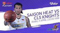 Live Streaming ABL: Saigon Heat vs CLS Knights