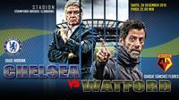 Pelatih Chelsea FC vs Watford FC (Liputan6.com/Abdillah)