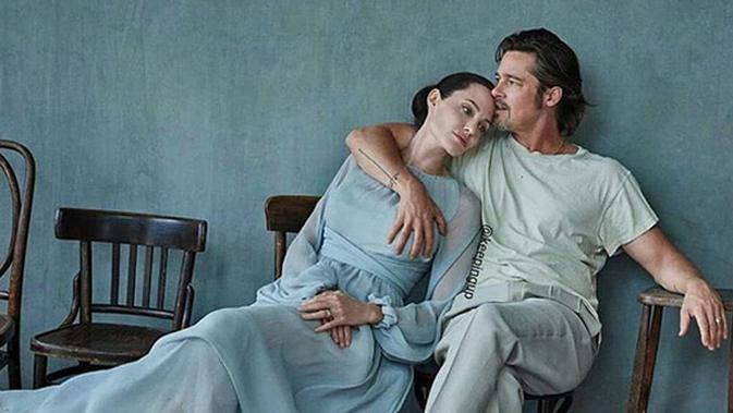 Surat Cerai Belum Selesai, Brad Pitt dan Angelina Jolie Butuh Waktu Lebih