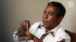 Duta Besar Timor Leste untuk Indonesia Alberto Carlos berbicara dalam pertemuan dengan jajaran EMTEK dan SCM Group di Jakarta, Kamis (9/8). Pertemuan membahas kerja sama di sektor media. (Liputan6.com/JohanTallo)