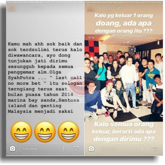 Tudingan Mak Vera berjudi (Instagram/ @lambe_turah)