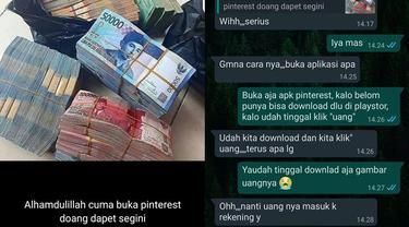 7 Chat Netizen Kena Prank Status Gambar Uang Ini Bikin Tepuk Jidat