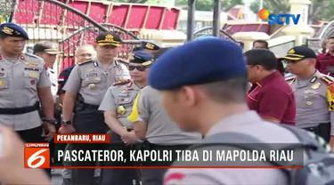 Tito menyatakan penyerangan atas Mapolda Riau yang menyebabkan satu polisi dan empat terduga teroris tewas terkait jaringan Jemaan Ansharut Daulah (JAD).