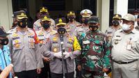 Kapolda Metro Jaya Irjen Pol Fadil Imran meresmikan Kampung Tangguh Jaya 'Cakra' di wilayah RW 01, Pondok Bambu, Jakarta Timur. (Foto:Liputan6/Ady Anugrahadi)