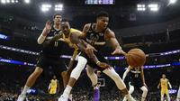 Giannis Antetokounmpo memimpin Bucks kalahkan Lakers di laga NBA (AP)