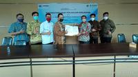 Askrindo Syariah melakukan kerjasama dengan KSPPS Tamzis Bina Utama. (Dok humas)