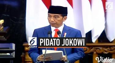 Presiden Jokowi mengungkapkan alasan pemindahan Ibu kota dari Jakarta ke Kalimantan saat menyampaikan Nota Keuangan dan RAPBN 2020.