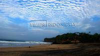 Pantai Nganteb di Pesisir Selatan Kabupaten Malang. (Tria Adha/Times Indonesia)