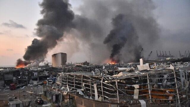 Ledakan di Beirut Lebanon Berasal dari 2.700 Ton Amonium Nitrat ...
