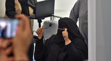 Melihat Warga Arab Saudi saat Disuntik Vaksin COVID-19