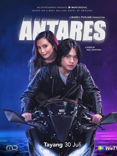 Poster webseries Antares dibintangi Angga Yunanda. (Foto: Instagram @anggayunandareal16)
