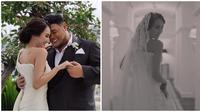Ivan Gunawan dan Bella Aprilia pakai baju pengantin di video teaser pernikahan mereka. (Sumber: Instagram/@ivan_gunawan)