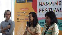 Happiness Festival 2018 yang tampil perdana di Indonesia menawarkan sejumlah kegiatan seru dan menarik yang berhubungan dengan kebahagiaan dan kesejahteraan.