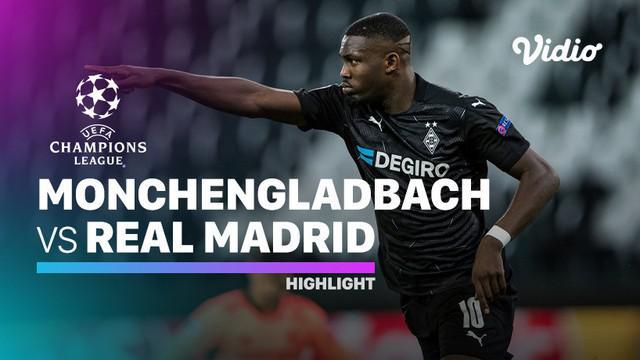 Berita video highlights Liga Champions, Real Madrid ditahan imbang Borussia Monchengladbach lewat gol Benzema dan Casemiro di menit akhir, skor 2-2, Rabu (28/10/20).