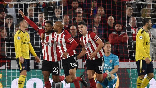 Sheffield United vs Arsenal (OLI SCARFF / AFP)