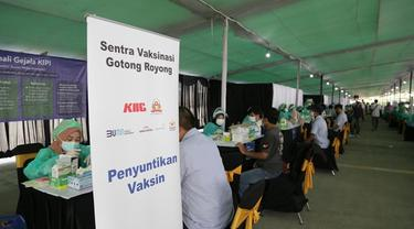 Sentra vaksinasi gotong royong (Dok: PT HM Sampoerna Tbk)