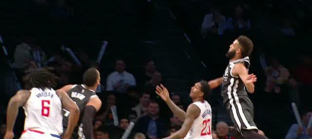 Berita video game recap NBA 2017-2018 antara LA Clippers melawan Brooklyn Nets dengan skor 114-101.