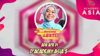 Saksikan Behind The Scene D'Academy Asia 5 Bersama Lesti Andryani. sumberfoto: Indosiar