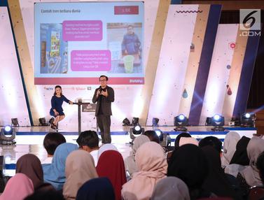 Co Founder&President at Bukalapak Bagi Inspirasi Bisnis Di EGTC Bandung 2018
