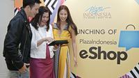 Kini Anda bisa berbelanja di Plaza Indonesia secara online dengan E-Shop (Liputan6/pool/Plaza Indonesia)
