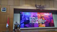 World Indonesia scholarships forum 2018 (Foto:Merdeka.com/Wilfridus S)