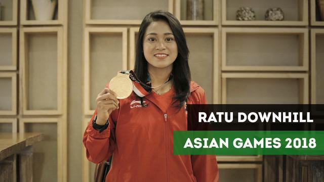 Berkat bonus, ratu sepeda downhill Asian Games 2018 berangkatkan keluarga pergi umroh