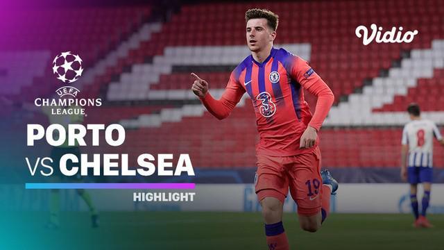 Berita video highlights leg pertama perempat final Liga Champions 2020/2021 antara Porto melawan Chelsea yang berakhir dengan skor 0-2, Kamis (8/4/2021) dinihari WIB.