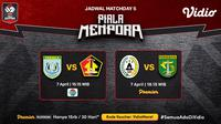 Pertandingan lengkap Piala Menpora 2021 dapat disaksikan melalui platform streaming Vidio. (Dok. Vidio)