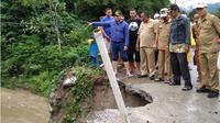 Longsor dan banjir di Kabupaten Bone Bolango. (Liputan6.com/Arfandi Ibrahim)