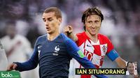 Kolom Ian Situmorang, Final Piala Dunia Rusia 2018: Prancis vs Kroasia. (Bola.com/Dody Iryawan)