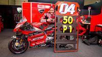 Andrea Dovizioso mempersembahkan kemenangan ke-50 bagi Ducati di kelas utama usai memenangkan MotoGP Austria 2020. (Dok MotoGP)