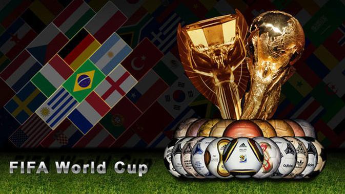 Sejarah Bola Piala Dunia Dulu Bola Kulit Berat Dan Pakai Tali Bola Liputan6 Com