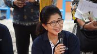 Menteri Kesehatan RI Nila F Moeloek mengingatkan pemudik soal tips mudik yang sehat dan nyaman. (Biro Komunikasi dan Pelayanan Masyarakat, Kementerian Kesehatan RI)