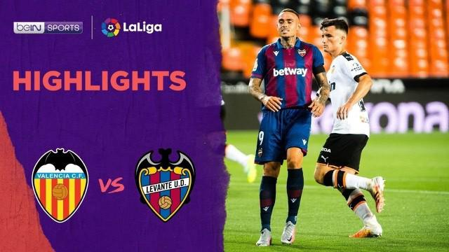Berita Video Highlights La Liga, Valencia Ditahan Imbang Levante 1-1