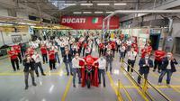 Ducati Multistrada V4 masuk jalur produksi (Motorbeam)