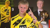 Borussia Dortmund - Erling Haaland (Bola.com/Adreanus Titus)