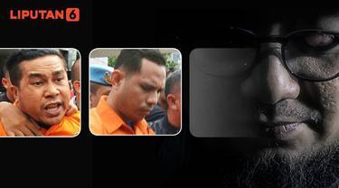 Banner Infografis Penangkapan 2 Penyerang Novel Baswedan