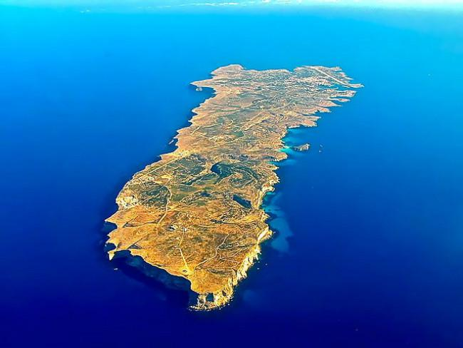 Pulau Lampedusa. (Sumber Flickr/Luca Siragusa)