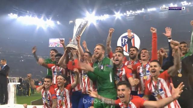 Berita video gol-gol yang mengantarkan Atletico Madrid mengalahkan Marseille dan menjadi juara Liga Europa 2017-2018. This video presented by BallBall.