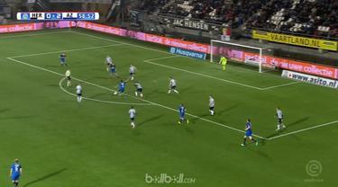 Alireza Jahanbakhsh mencetak gol terindah saat AZ Alkmaar menang 3-0 atas tuan rumah Heracles dalam laga lanjutan Eredivisie Belan...