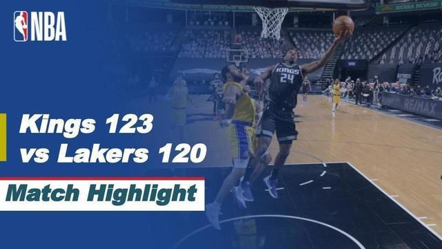 Berita Video Highlights NBA, LA Lakers Menelan Kekalahan di Kandang Sacramento Kings 120-123