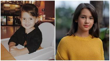 Genap Berusia 14 Tahun, Ini 6 Potret Transformasi Sandrinna Michelle