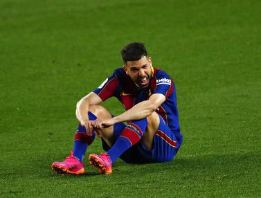 FOTO: Barcelona Kalah dari Granada di Camp Nou