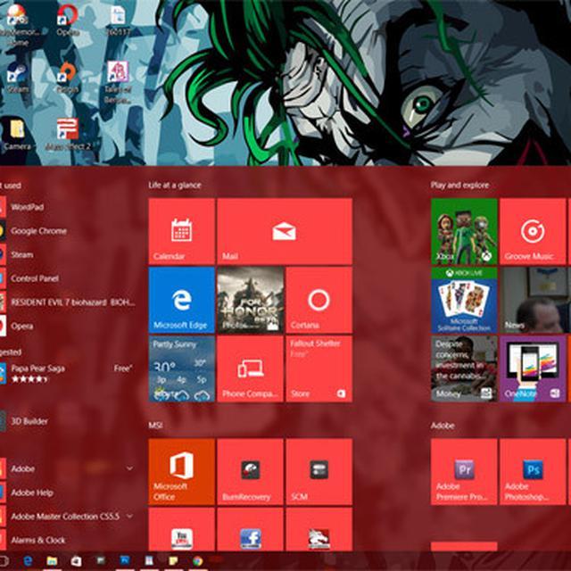 laptop hanya muncul wallpaper windows 10