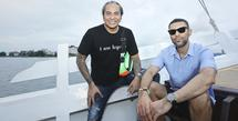 Band Element Rayakan 21 tahun berkarier di atas kapal phinisi. (Bambang E Ros/Fimela.com)