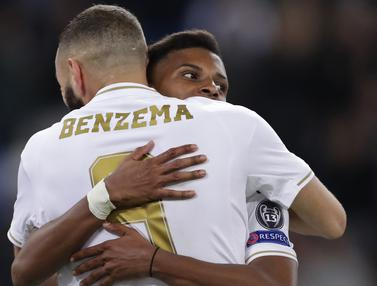 Real Madrid Permalukan Galatasaray Setengah Lusin Gol