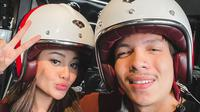 Aurel Hermansyah dan Atta Halilintar. (Foto: Instagram @aurelie.hermansyah)
