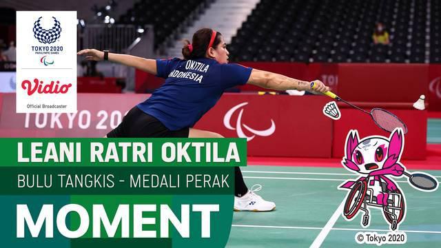 Berita video highlights atlet para bulutangkis Indonesia di kategori SL4, Leani Ratri Oktila, kembali meraih medali di Paralimpiade Tokyo 2020, Minggu (5/9/2021) pagi hari WIB.