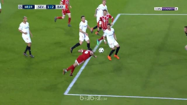 Berita video highlight Liga Champions 2017-2018, Sevilla vs Bayern Munchen, dengan skor 1-2. This video presented by BallBall.